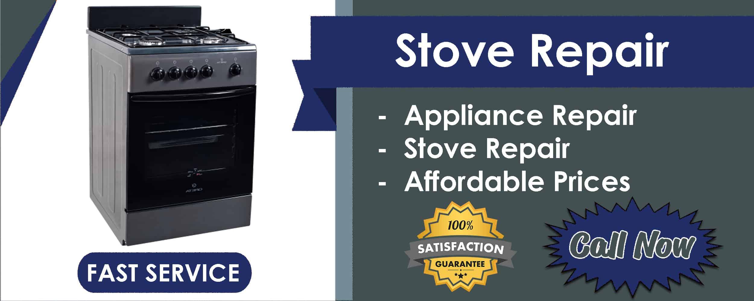 stove repair service